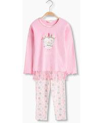 Esprit Pyjama en jersey de coton stretch