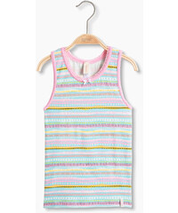 Esprit Top basique en coton/stretch