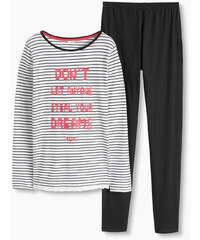 Esprit Pyžamo z žerzeje, 100% bavlna