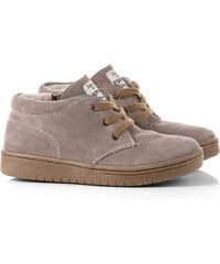 Esprit Semišové kotníkové boty se zipem