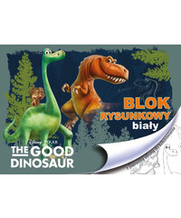 BENIAMIN Blok na kreslení s omalovánkami Hodný Dinosaurus A4