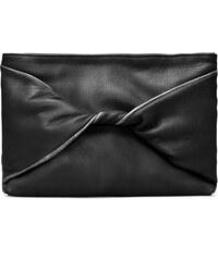 Gretchen Cassia Bow Abendtasche - Midnight Black Silver