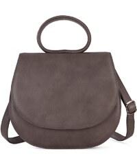 Gretchen Ebony Loop Bag - Stone Gray