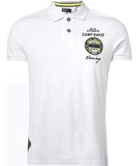 Camp David Poloshirt mit Logo-Details