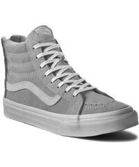 Sneakers VANS - Sk8-Hi Slim Zip VN000HX8JV9 (Scotchgard) Cool Grey/Bl