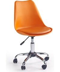 Halmar Dětská židle Coco - oranžová