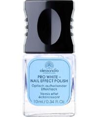 Alessandro Pro White Effektlack Nagellack Professional Manicure 10 ml