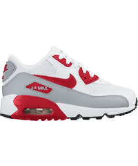Nike Air Max 90 Mesh Ps Schuhe white/red/black