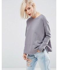 ASOS Lightweight Sweatshirt - Grau