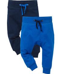 bpc bonprix collection Baby-Sweathose (2er-Pack) Bio-Baumwolle in blau von bonprix