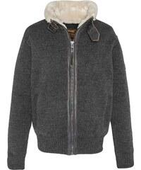 Schott Pull en laine mélangée - anthracite