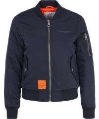 BOMBERS Bomberjacke mit Label Patch