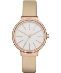 Skagen Montres, Ladies Ancher Leather Watch Beige en rose pâle, beige