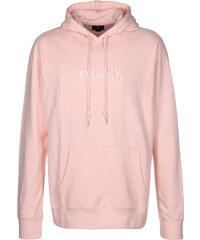 Obey Contorted sweat à capuche pink