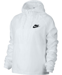 Nike Woven W Hooded Zipper white/black