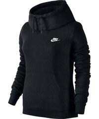 Nike Funnel-Neck W Hoodie black/white