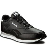 Boty Reebok - Royal Cl Jog 2L V70722 Black/White/Flat Grey