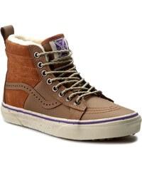 Sneakersy VANS - Sk8-Hi 46 Mte VN0A2XS2JMI (Hana Beaman) Brown/Angor