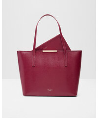 Ted Baker Großer Shopper aus Leder Grape