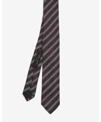 Ted Baker Strukturierte Krawatte mit Streifen Lila