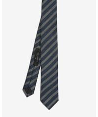 Ted Baker Strukturierte Krawatte mit Streifen Petrol