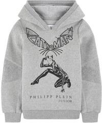 Philipp Plein Catwoman-Sweatshirt mit Strass
