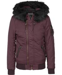 Khujo Blanc W veste d'hiver bordeaux