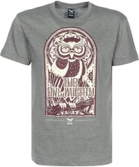 Iriedaily The Owl Mighty T-Shirt charc mel.