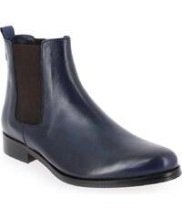 Boots Femme Costa Costa en Cuir Bleu
