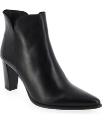 Boots Femme Myma en Cuir Noir