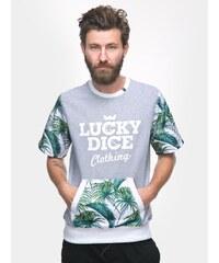 Lucky Dice Summer Short Sleeve Crewneck Grey