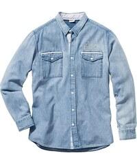 John Baner JEANSWEAR Džínová košile s dlouhým rukávem, Regular Fit bonprix