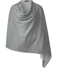 Street One - Poncho en jersey Felin - ghost grey melange