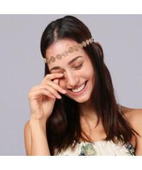 Lesara Haarband mit Blüten-Elementen