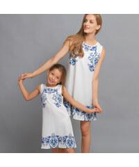 Lesara Ärmelloses Kinder-Kleid mit Ornament-Muster - 104
