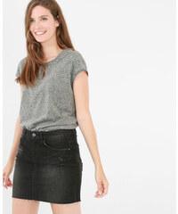 T-shirt ouverture dos gris, Femme, Taille L -PIMKIE- MODE FEMME