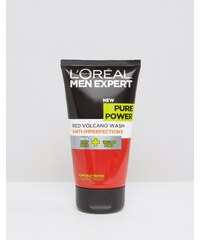 L'Oreal Paris - Klärendes Gesichtswaschgel Men Expert Pure Power Volcano, 150 ml - Mehrfarbig