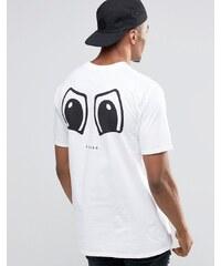 New Love Club - Prang - T-Shirt mit Rücken-Print - Weiß