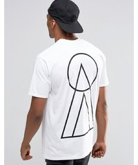 New Love Club - Tri-Circle - T-Shirt mit rückseitigem Aufdruck - Weiß