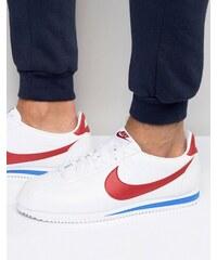 Nike - Cortez - Weiße Leder-Sneaker, 749571-154 - Weiß