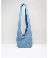 South Beach - Sac de plage souple en chambray - Bleu marine