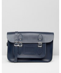 The Leather Satchel Company - 14-Zoll-Satchel - Blau