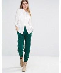 Vanessa Bruno Athe - Pantalon de jogging ajusté style décontracté - Vert