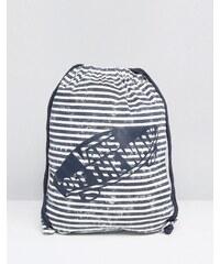 Vans - Gestreifte Tasche mit Logo und Kordelzug - Mehrfarbig