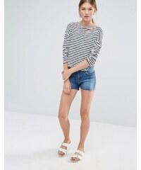 Vero Moda - Short en jean - Bleu