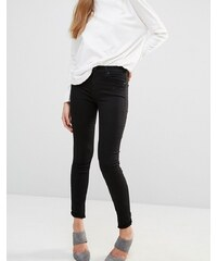 7 For All Mankind - Jean skinny taille haute - Noir
