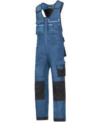Kalhoty DuraTwill™ laclové řemeslnické - Modrá - Snickers Workwear