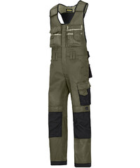 Kalhoty DuraTwill™ laclové řemeslnické - Zelená - Snickers Workwear