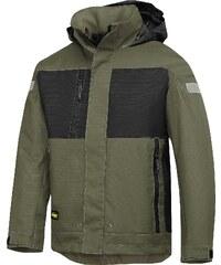Zimní nepromokavá bunda - Zelená - Snickers Workwear