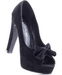 BODYFLIRT Escarpins noir avec 13 cm haut talonchaussures & accessoires - bonprix